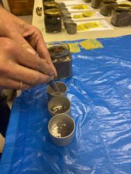 Лабораторное изучение свойств отобранных образцов почв