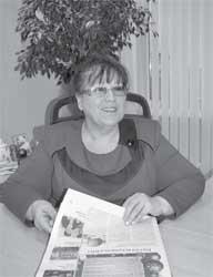 Наталья Боева, директор фирмы Калория