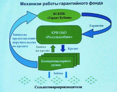 Двухуровневый механизм работы кредитной кооперации