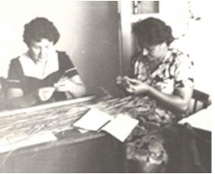 Определение структуры урожая риса Богушева Н.В. (слева),Лебединец А.А. (справа)