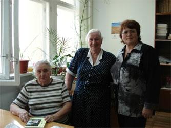 Слева направо: Алексеева М.М.,Егормина А.М., Барзакова Т.Г.