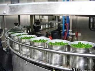 переработка зеленого горошка